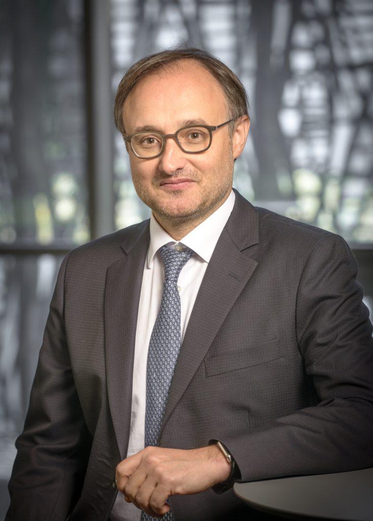 Franck Mouthon, président de France Biotech